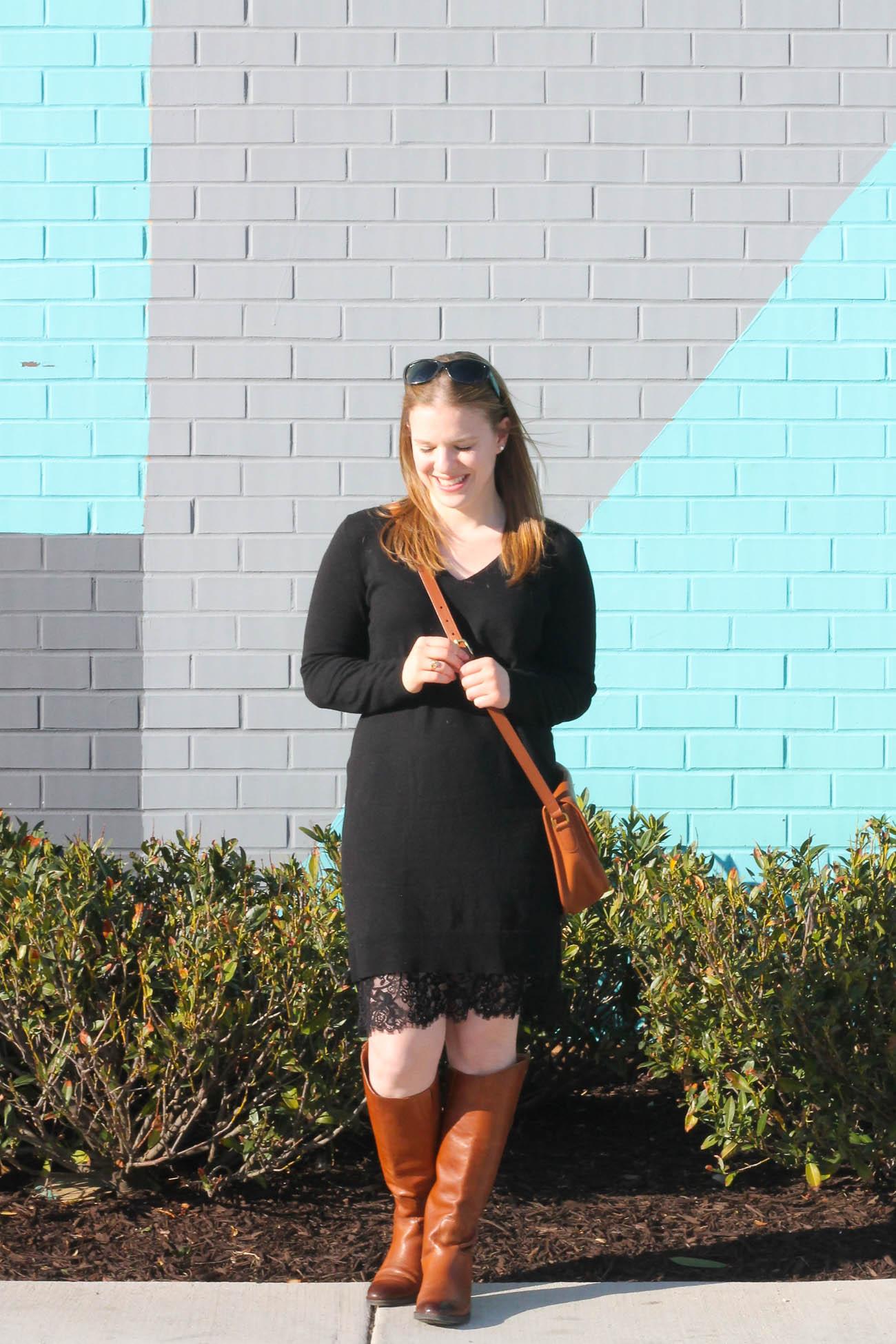 The Sweater Dress | Something Good, @danaerinw
