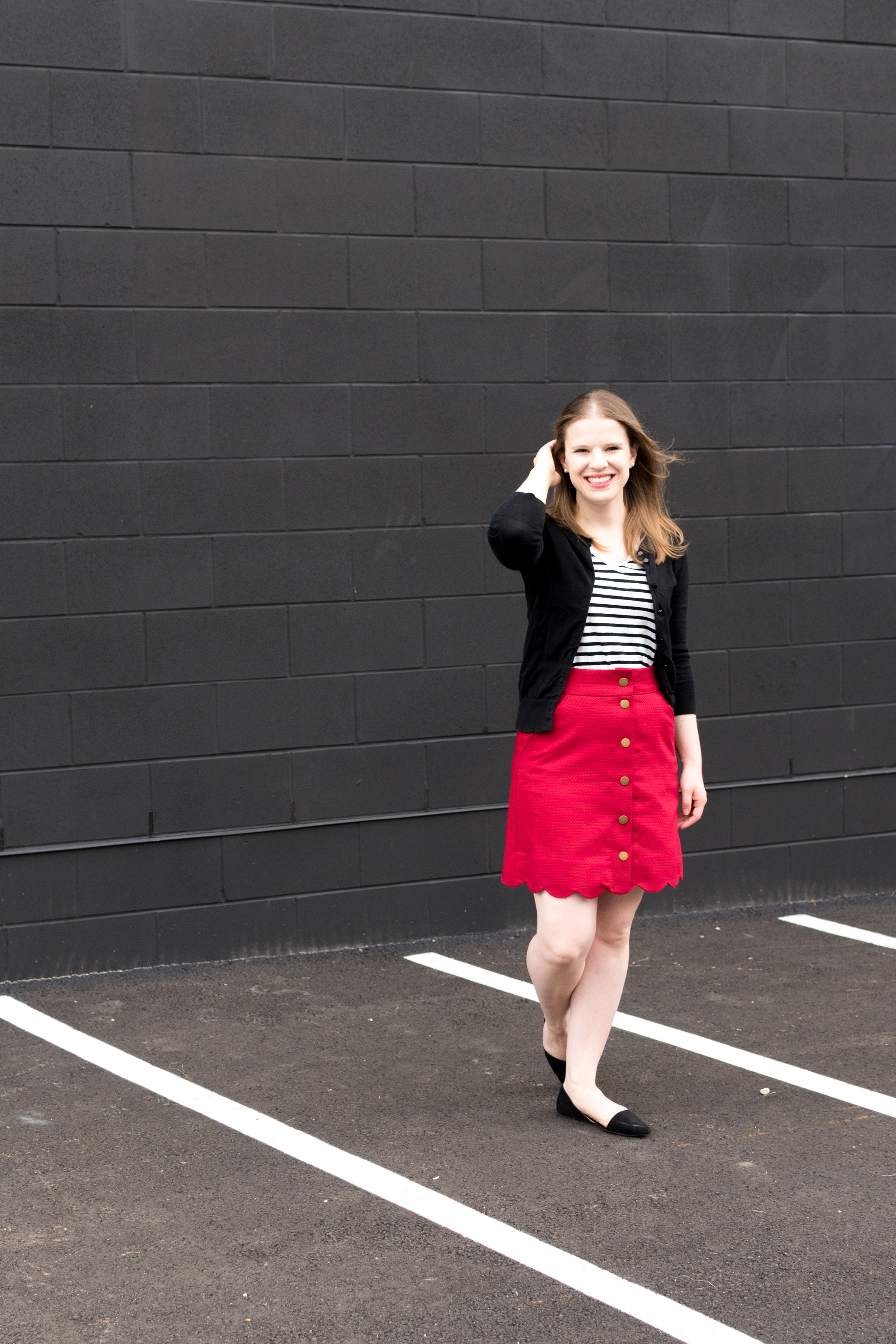 The Perfect Skirt to Transition Your Outfit From Summer to Fall | Something Good, @danaerinw ,