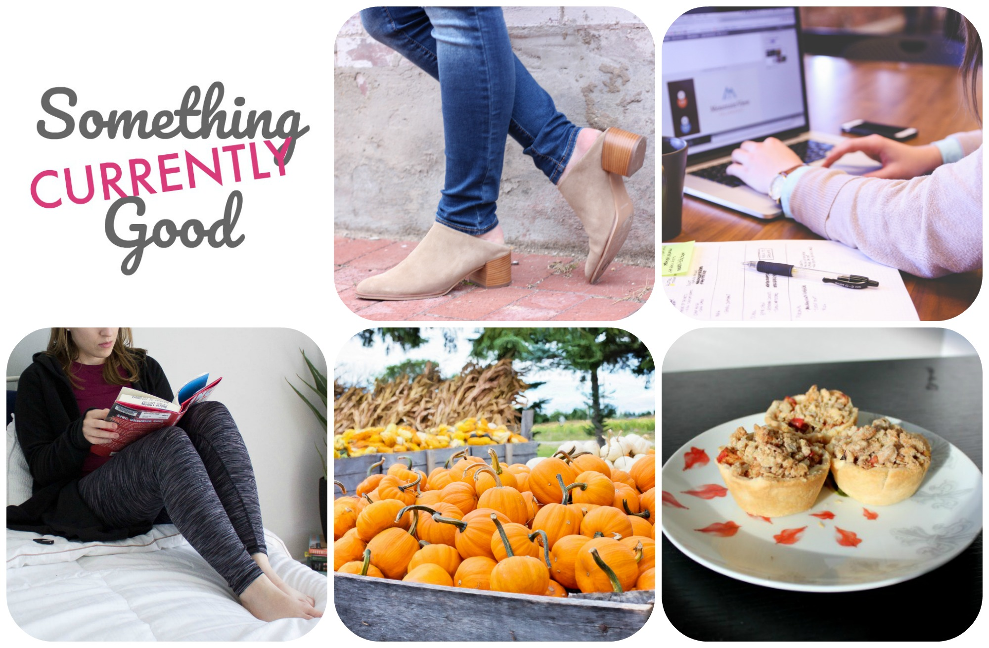 Currently, Vol. 19 | Something Good, @danaerinw , everlane mules
