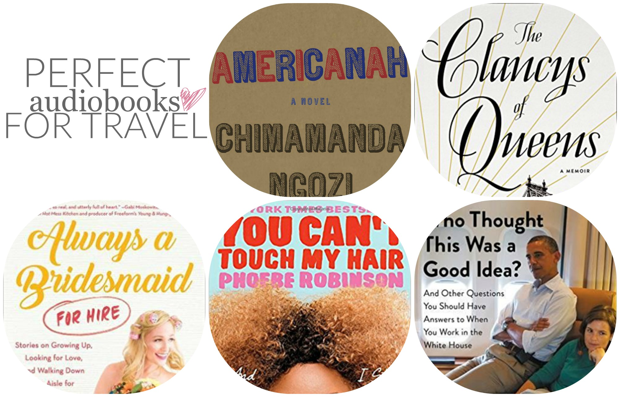 Sunday Book Club: Perfect Audiobooks for Traveling | Something Good