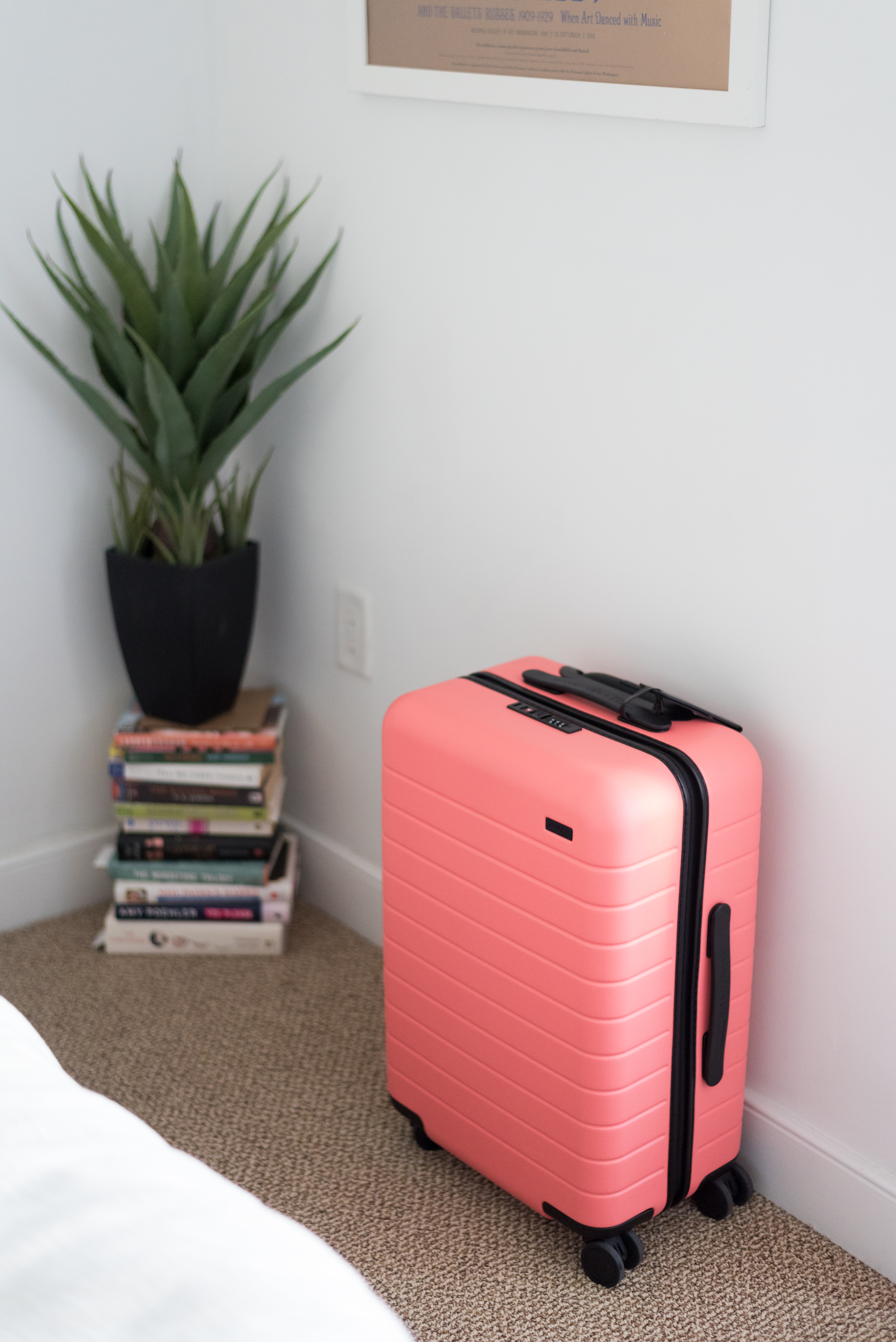How I Pack My Carry On Suitcase | Something Good, @danaerinw , away x gray malin, the bigger carry on, away luggage coral