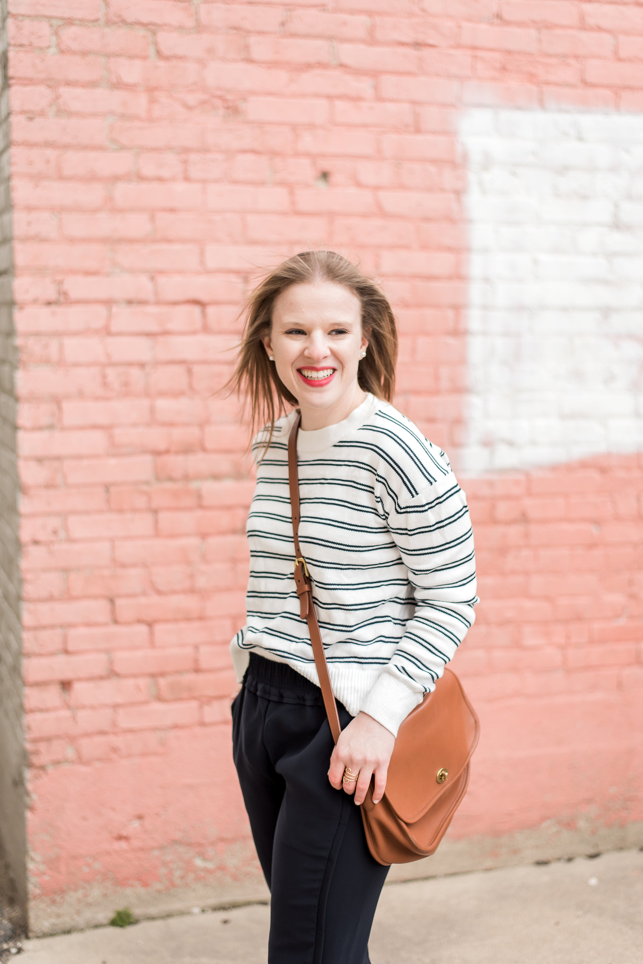 1f499a5fa87 woman style blogger wearing The Cotton Everlane sweater. I m going ...