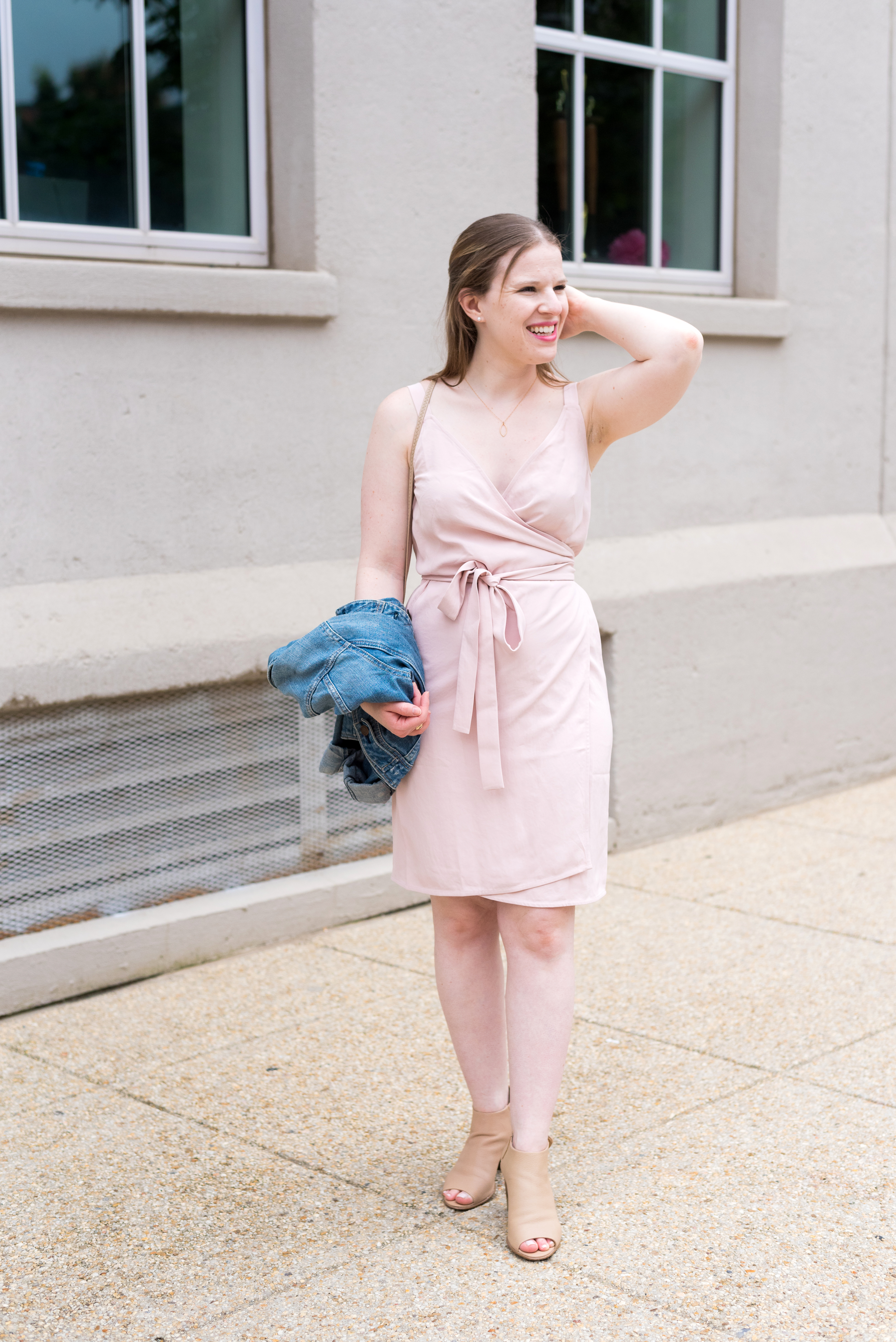 The Everlane Wrap Dress Review Something Good A Style