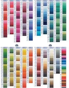 Dmc thread color chart also seatle davidjoel rh