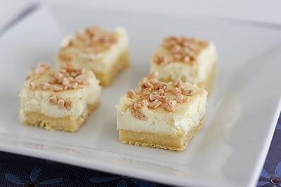 Creme Bruele Cheesecake Bars