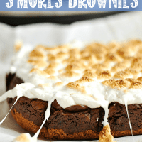 Slow Cooker S'mores Brownies