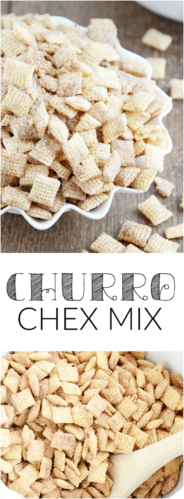 Allergy Friendly Churro Chex Mix