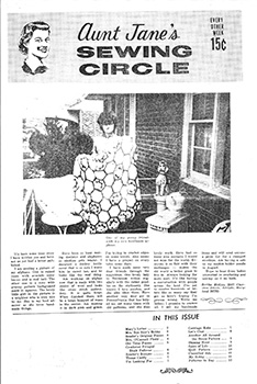 AUNT JANE'S SEWING CIRCLE Magazine Review