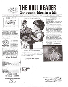 DOLL READER Magazine Bibliography: 1970's