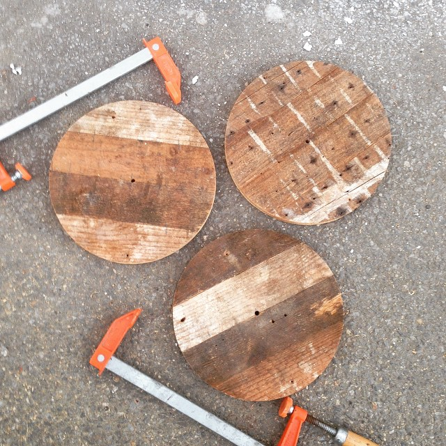 Whaaa whaaaa?! Check out our soon to be barstools built from reclaimed DC wood straight from our craftsman @zpb101 and Wardman Wood! 24 coming your way! #industrial #reclaimed #salvage #aCreativeDC #vintagerentals #welovedc #build #badass #furniturerentals #dcevents #madeinDC #local