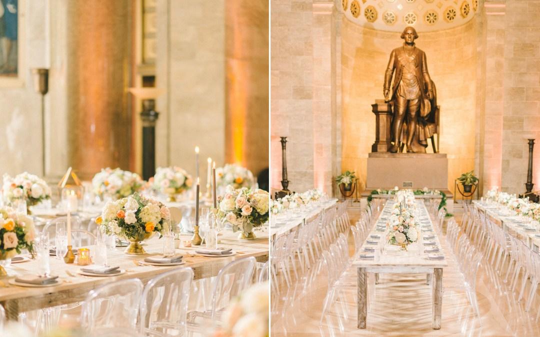 George Washington National Masonic Memorial Wedding, Alexandria Virginia    Meng + Albert   