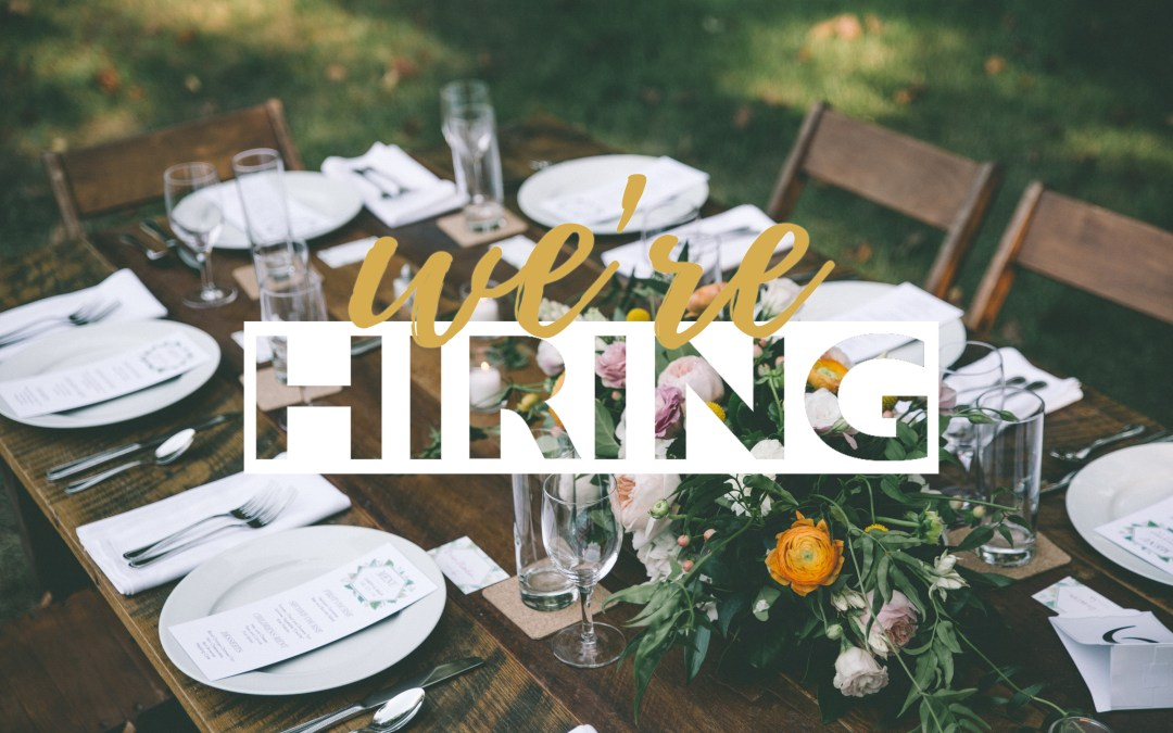 We're Hiring!  Looking for a Marketing Associate