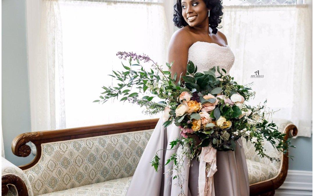 Our Garden Style Florals:  Sneak Peak at Mackenzie and Josiah's Wedding