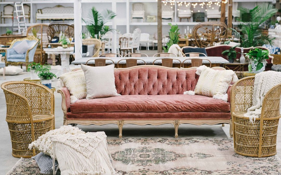 All About Rattan || Something Vintage Rentals Collection