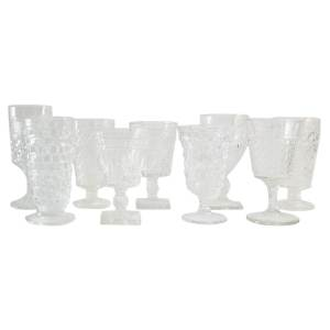 The Zephyr: Clear Glass Goblets