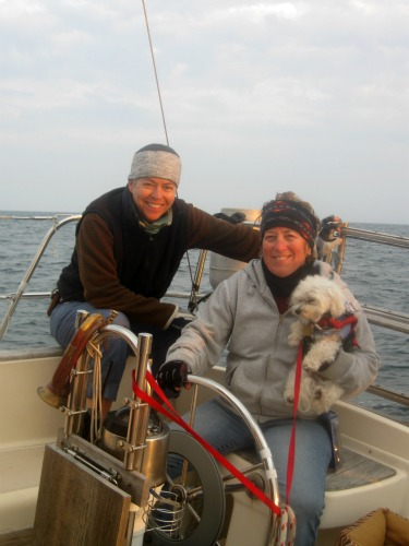 The crew of Moondance II and Dog Gone Sailing Charters.