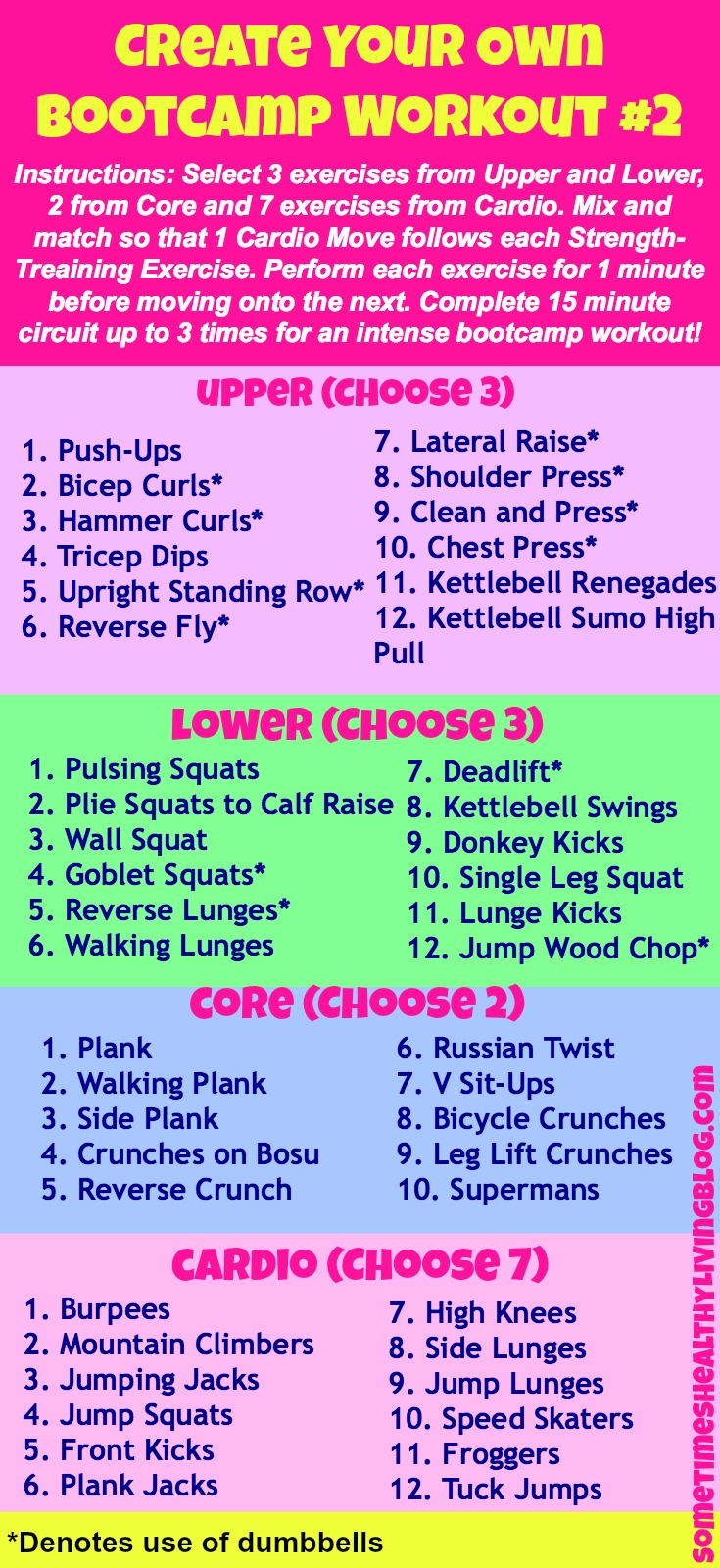 Boot Camp Circuit Ideas on Pinterest   Fitness Bootcamp ...