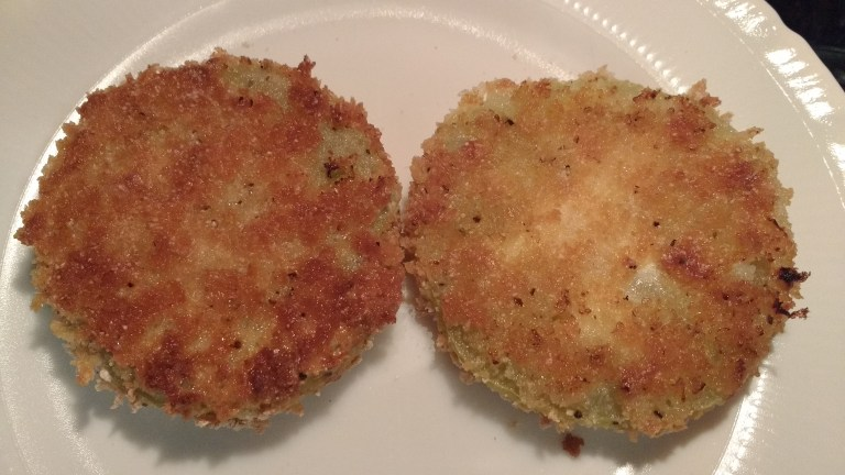 "Oven ""Fried"" Green Tomatoes by Somewhat Awry"