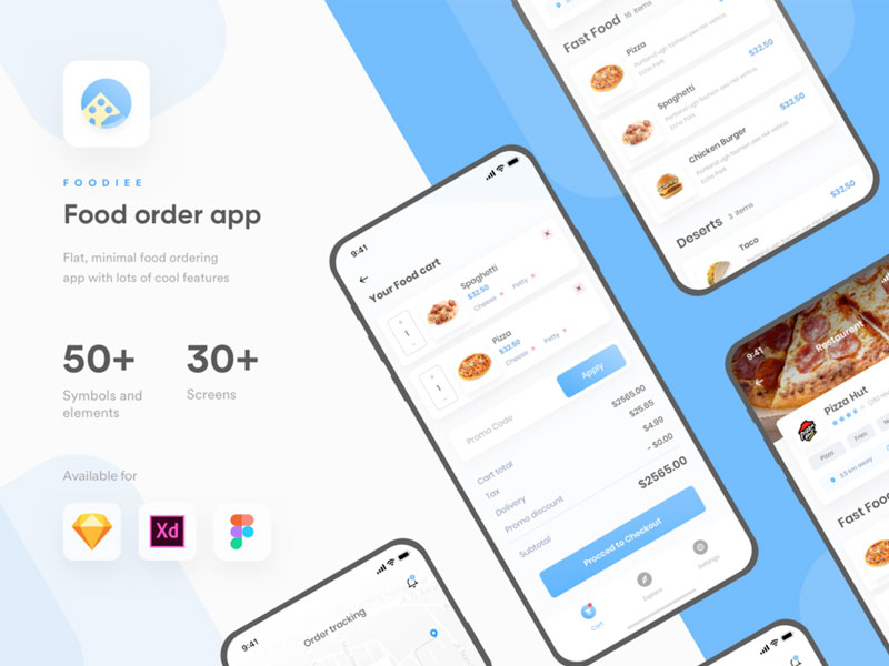 Food Ordering App Ui Kit