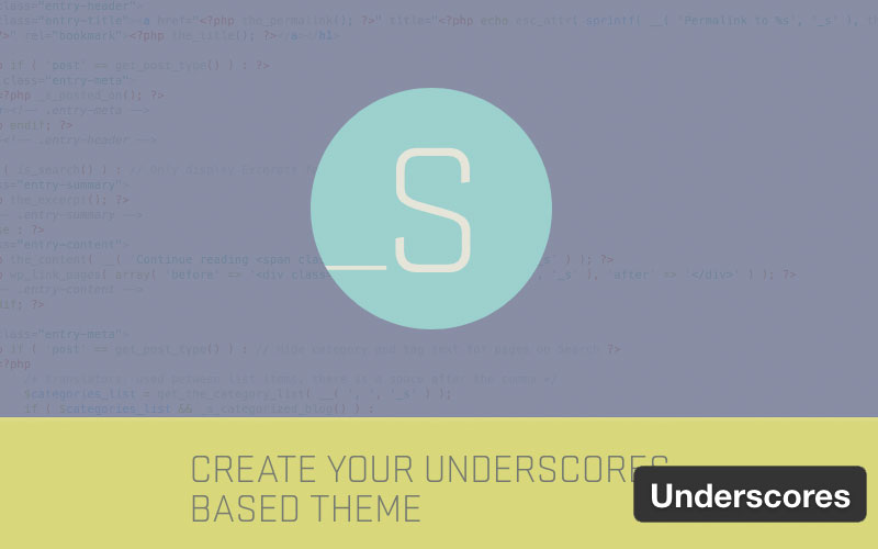Underscores WordPress