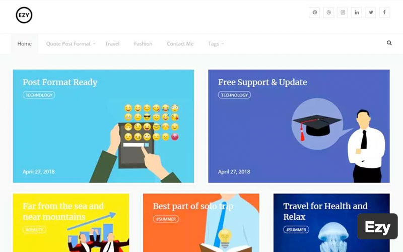 Ezy WordPress Theme