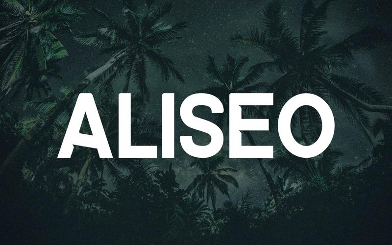 Aliseo Sans Serif Font