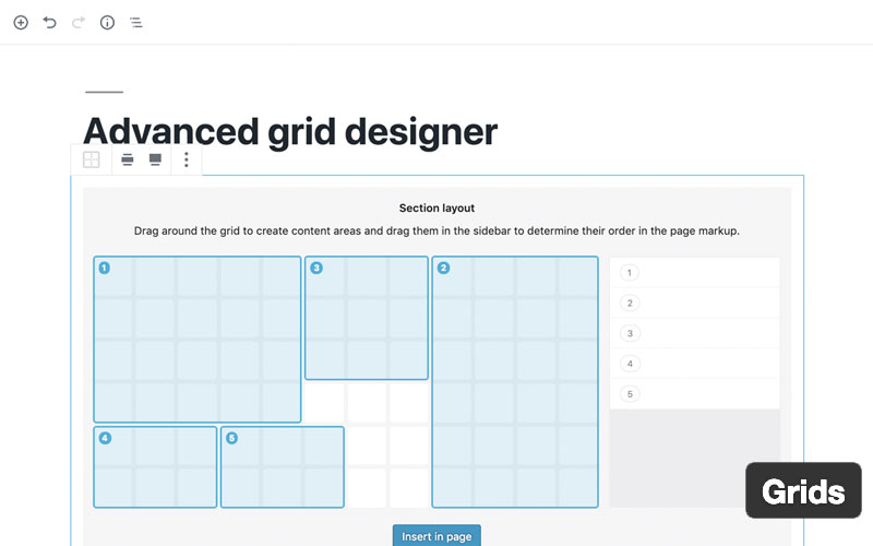 Grids Layout Builder For WordPress