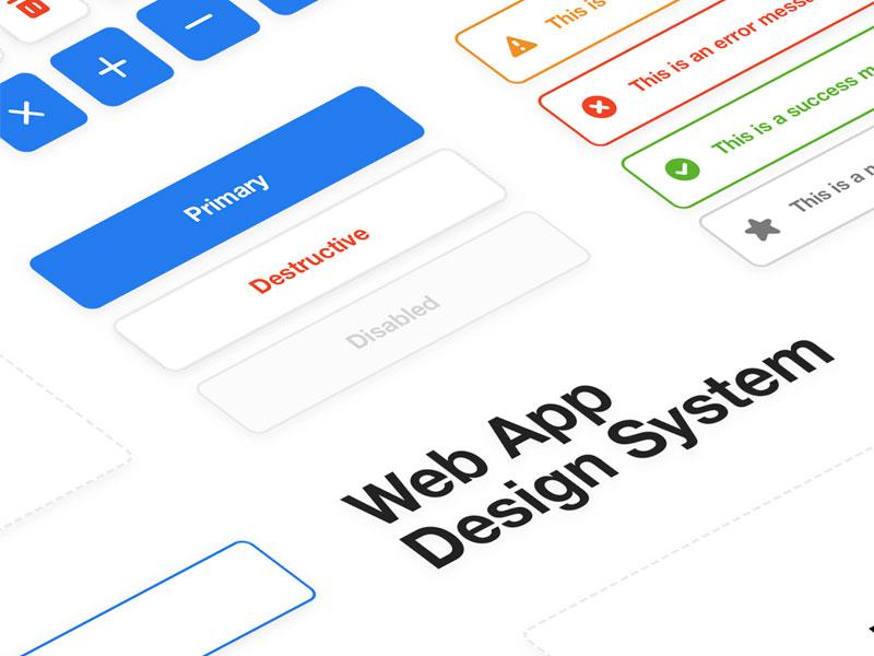 Web App Design System