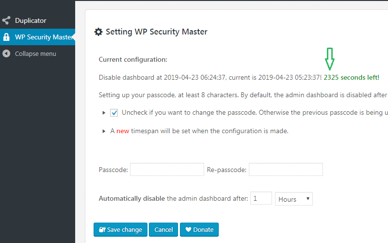 Wp Security Master