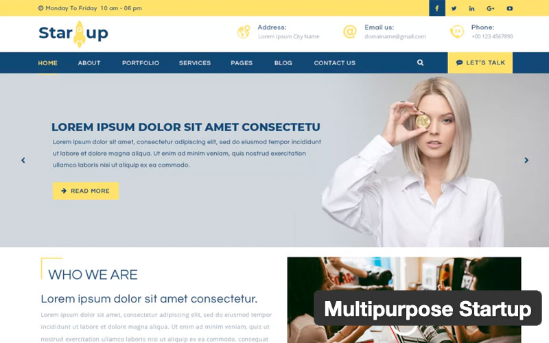 Multipurpose Startup