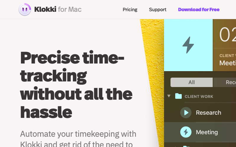 Klokki For Mac