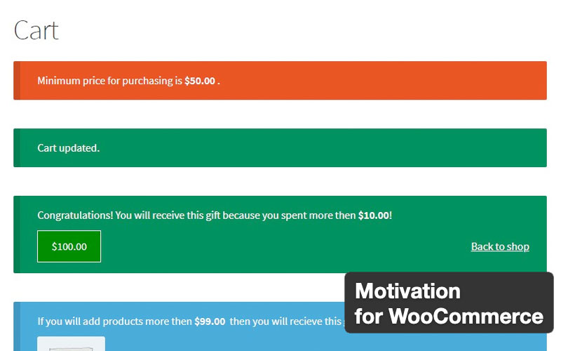Motivation For Woocommerce