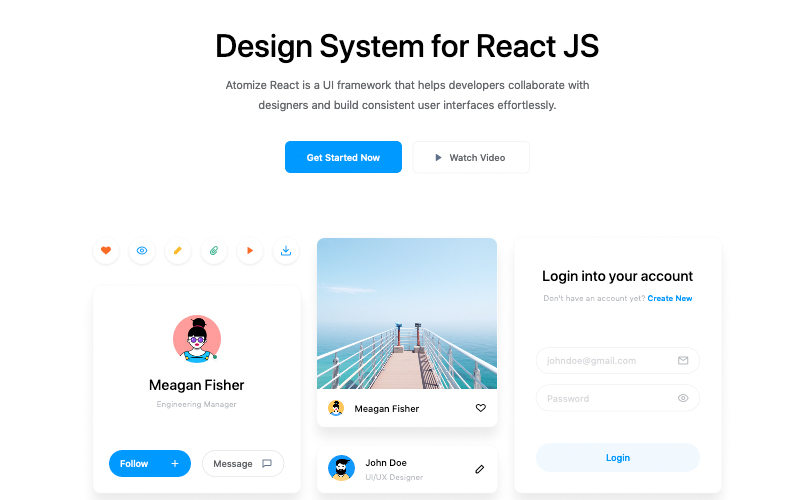 Design System For React Js