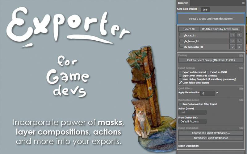 Exporter For Game Developers