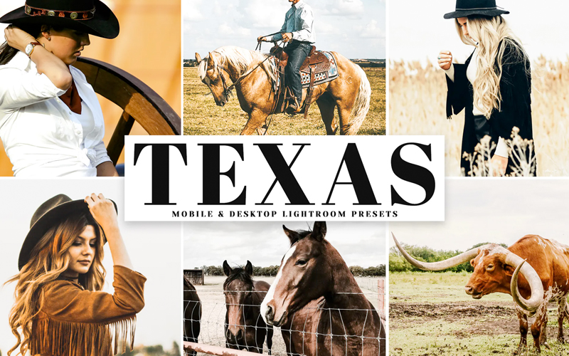 Texas Lightroom Presets
