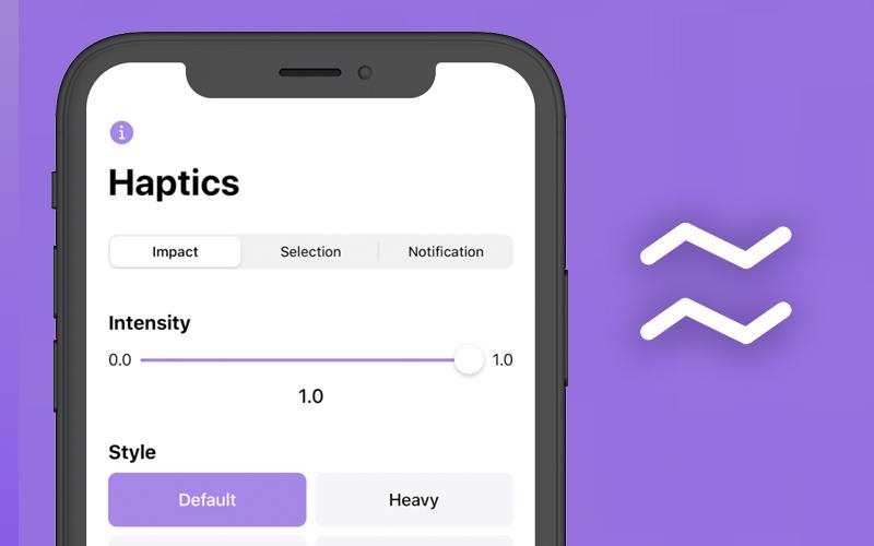 Haptics Feedback Generator