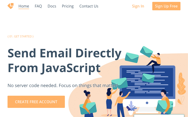 Email Js