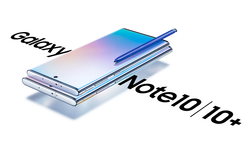 Bold Font Samsung Galaxy Note 10