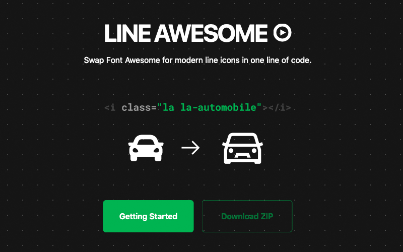 Line Awesome