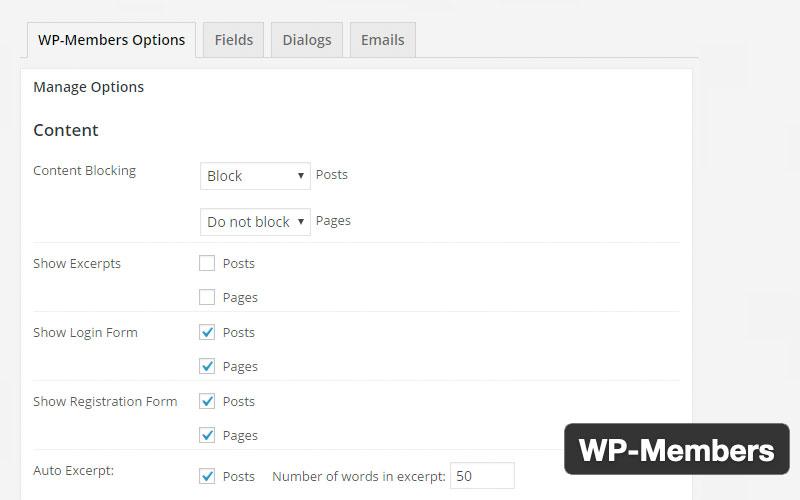 Wp Members Membership Plugin