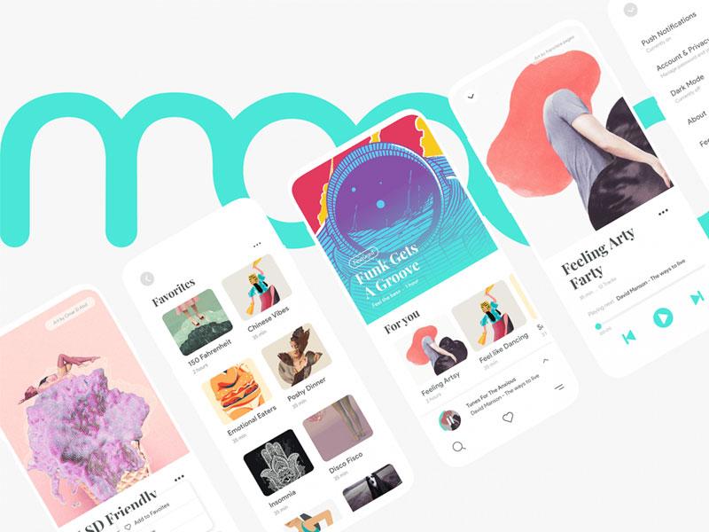 Moood Music App Kit