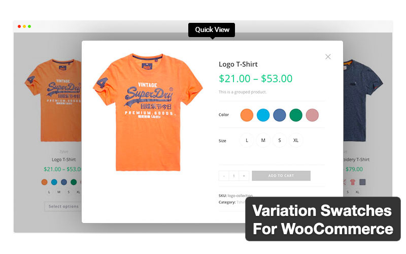 Variation Swatches For Woocommerce By Getwooplugins