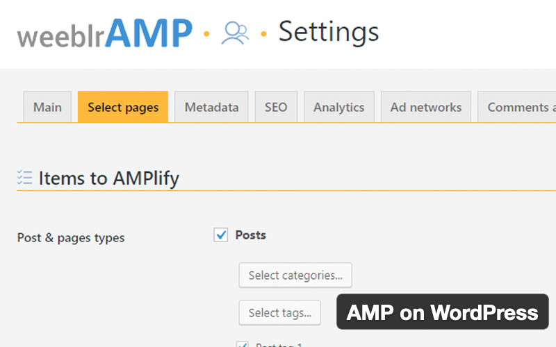 Amp On WordPress Plugin