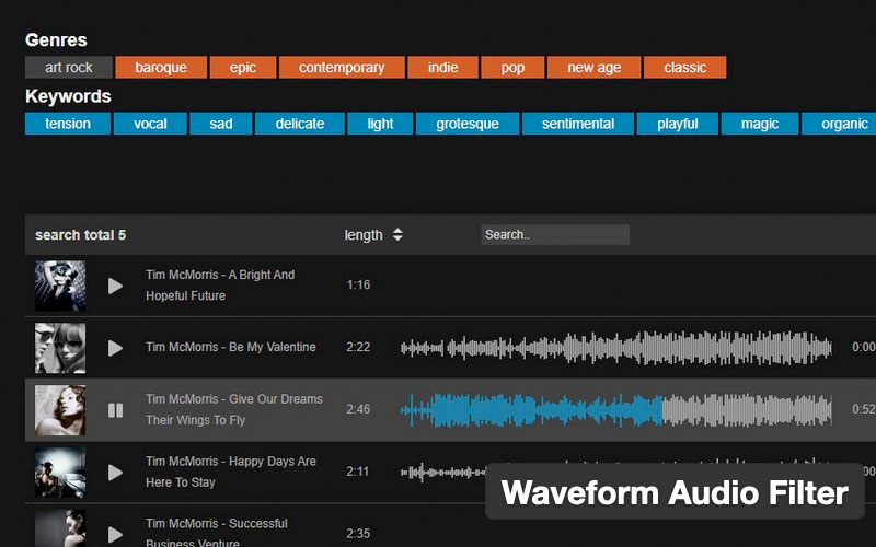 Waveform Audio Filter