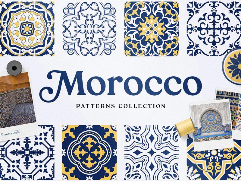 Moroccan Geometric Patterns