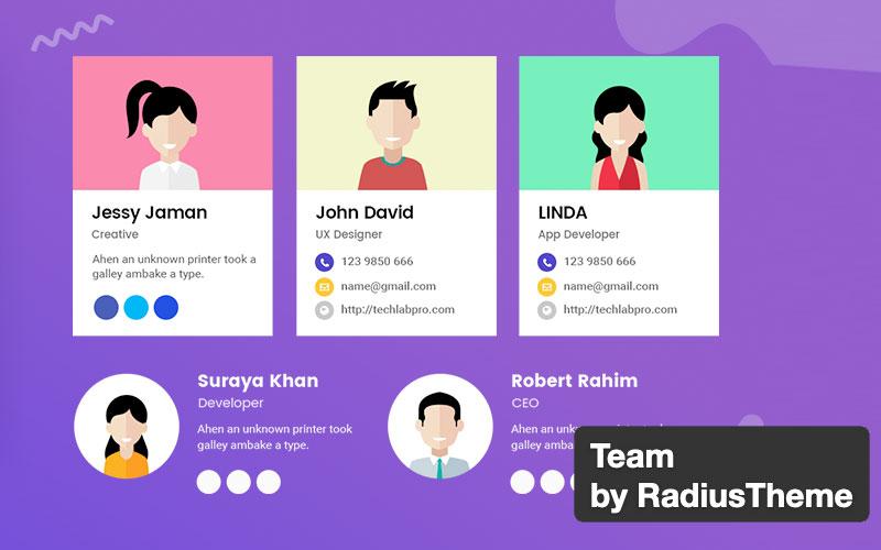 Team By Radiustheme