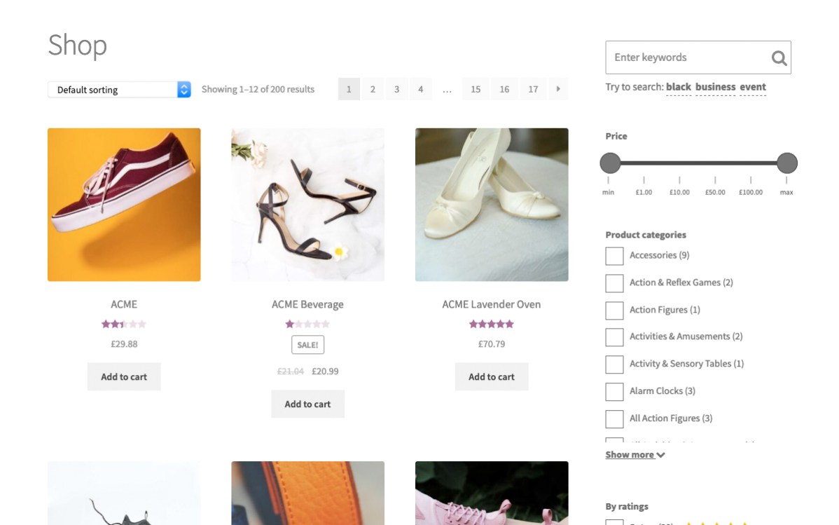 Woocommerce Search & Filter Plugin