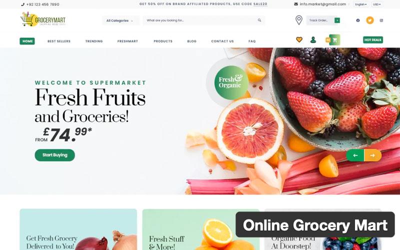 Online Grocery Mart