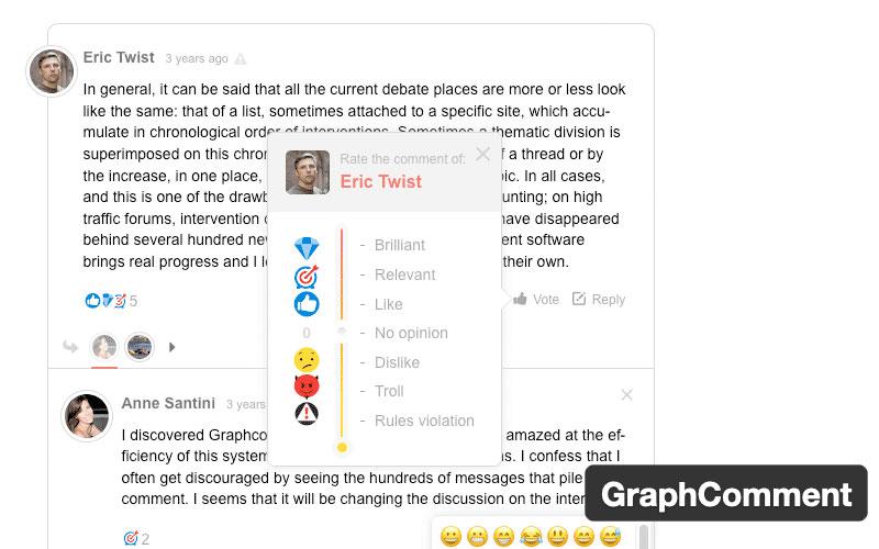 Graphcomment Comment System