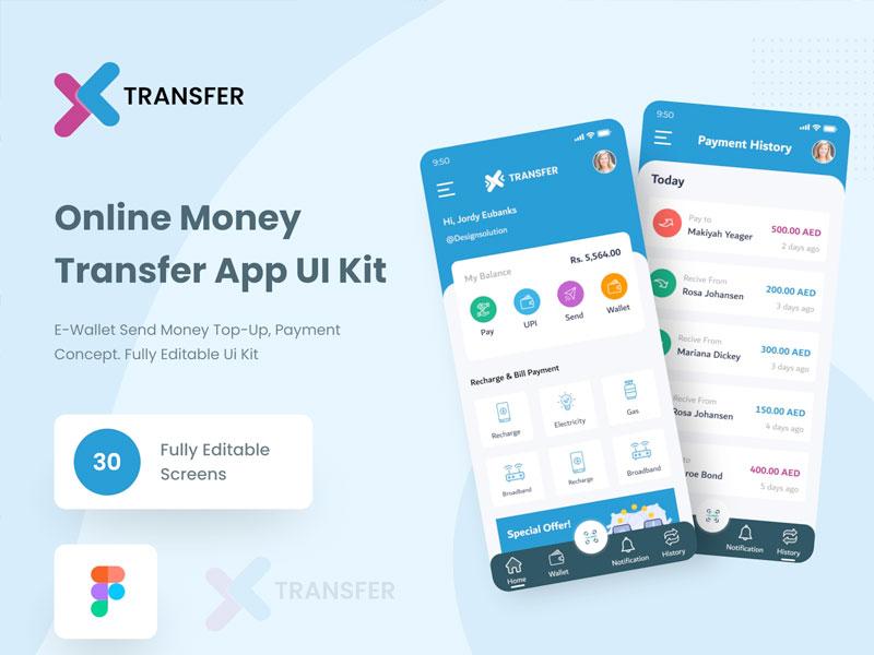 Transfer Online Wallet App